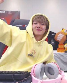 Find EXO Clothing, KPOP Hoodies for an affordable price Baekhyun, Foto Bts, Exo Style, Exo Group, Yellow Hoodie, Kpop Merch, Exo K, Chanbaek, Kpop Fashion