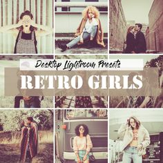 Buy Lightroom Retro Girls Presets by LukStudioDesign on GraphicRiver. I present to You a set of presets 20 Retro Lightroom Presets for Lightroom. Important: This set of presets intended o. Presets Lightroom, Professional Lightroom Presets, Desktop, My Settings, Retro Girls, Edit Your Photos, Outdoor Portraits, Architecture Photo, Photo Studio