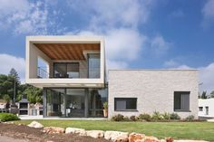 SO Architecture Designs a Contemporary Residence in a Young Residential Neighborhood Outside of Yehiam, Israel