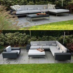 #loungeset #hoekbank #tuin #terras
