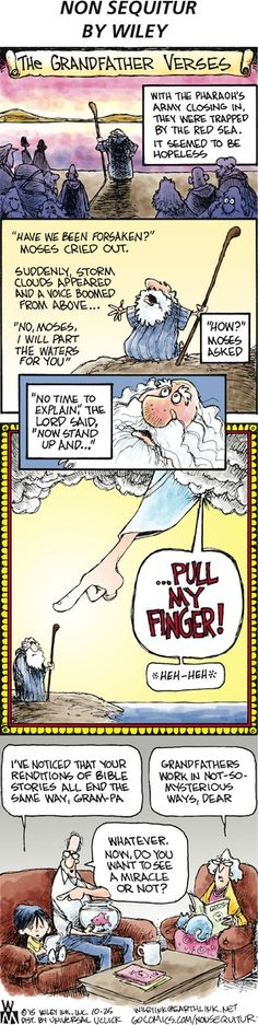 Non Sequitur Comic Strip, October 25, 2015     on GoComics.com