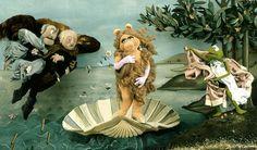 The Birth of Venus by Sandro Botticelli   LOL!