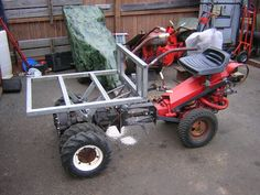 Gravely Mowers 565553665705615933 - Source by Small Tractors, Old Tractors, Walk Behind Tractor, Garden Tractor Attachments, Homemade Tractor, Bike Cart, Drift Trike, Engin, Dump Truck