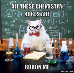 A collection of the Chemistry Cat meme. These are the top Chemistry Cat meme jokes. View and rate your favorite memes of Chemistry Cat. Chemistry Cat, Chemistry Pick Up Lines, Nerdy Pick Up Lines, Organic Chemistry, Math Pick Up Lines, Teaching Chemistry, Humor Nerd, Nerd Jokes, Science Jokes
