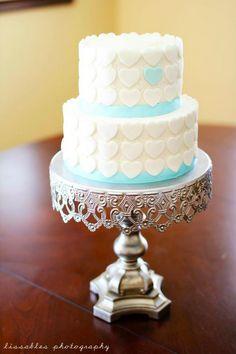 lissables.com l heart wedding cake