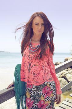 Editorial de verão Yacamim com aquele colorido que a gente ama ;)