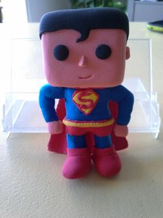 Superman - Jumping clay @estherdpalarea