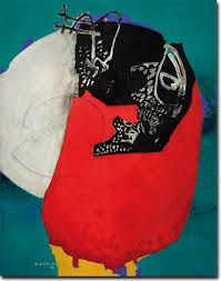 Manabu Mabe. pioneiro no abstracionismo no Brasil.