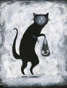 black and white by Elena Lishanskaya, via Behance