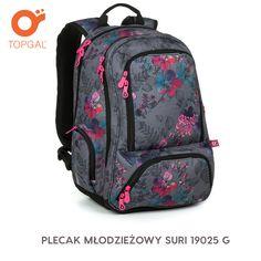 Dziewczęcy dwukomorowy plecak Topgal dla nastolatek od klasy 6 do 8, oraz do szkoły średniej