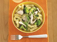 This chicken pasta salad is packed full of nutritious ingredients, including chicken and broccoli. This recipe would make a delicious lunch for mum and a tasty pasta salad for a child