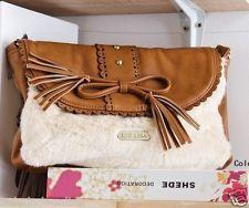 $28.49  JAPAN Liz Lisa Princess Vintage Ribbon Bow Lace Handbag Faux Fur Chain Bag