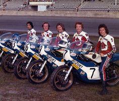 Legends on a Suzuki