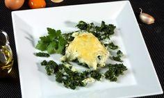 Receta de Huevos poché a la florentina