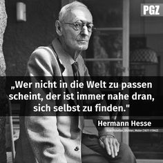 """Who does not. More about """"health"""" is interesting . - G Wer nicht. - Who does not. More about """"health"""" is interesting … – G Wer nicht… Nicola Tesla, German Quotes, Hermann Hesse, True Words, Quotations, Motivation Inspiration, Lyrics, Life Quotes, Inspirational Quotes"""