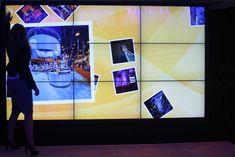 PSAV's Interactive Video Wall