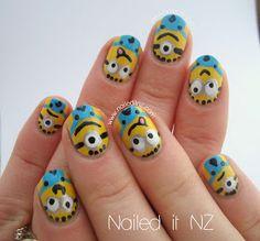 Nailed It NZ: Despicable Me nail art & tutorial!
