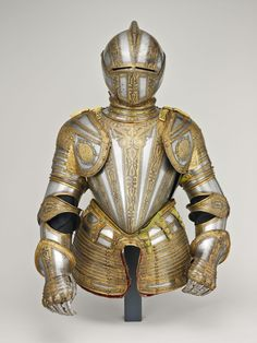 Italian, Milan. Gorget and Close Helmet for Foot Tourney at the Barriers   The Art Institute of Chicago