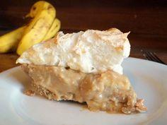"""Salted Butterscotch Banana Cream Pie — from """"Texas Well Seasoned"""""""
