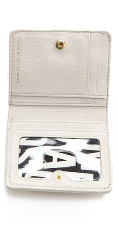Marc by Marc Jacobs Classic Q Single Snap Bifold Wallet