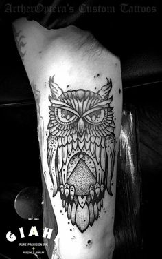 Arther Optera... super cool owl!