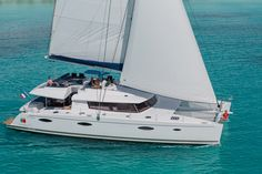 Victoria 67. 5+1 Cabins, 10+2 Berths. Available for charter in France, Spain, Antigua and Barbuda, British Virgin Islands, Saint Lucia, Saint Vincent and the Grenadines and Sint Maarten
