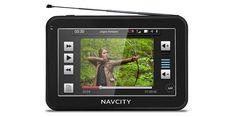 Acessórios Nissan March - GPS Navcity NC550 5'