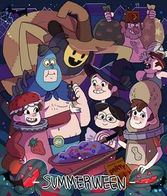 12 - Summerween - Gravity Falls Episodi by Constant Dipper Pines, Dipper Y Mabel, Epic Fail Pictures, Fall Pictures, Monster Falls, Desenhos Gravity Falls, Gavity Falls, Gravity Falls Art, Low Gravity