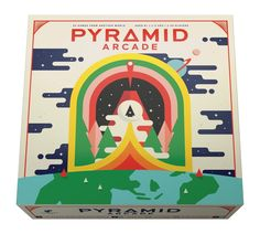 Pyramid Arcade Board Game on Packaging of the World - Creative Package Design Gallery