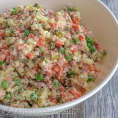 Olivye Ukrainian Potato Salad-7