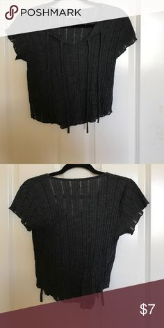gray urban outfitters crop top brand new, never worn gray urban outfitters grunge looking crop top! Kimchi Blue Tops Crop Tops