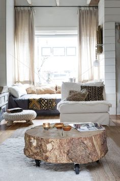 DIY Tree Stump Table Ideas U0026 How To Make Them