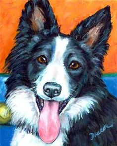 paintings of collies - Google Search
