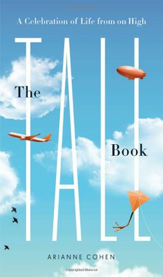 """A tall pin (?) for """"The Tall Book: A Celebration of Life from on High"""" by Arianne Cohen"""