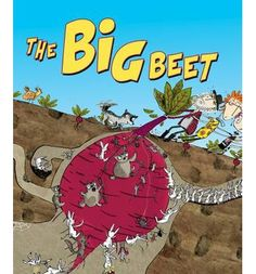 The Big Beet - my first published picture book. Author: Lynn Ward, Illustrator: Adam Carruthers, Publisher: Omnibus