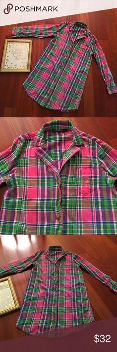 Ralph Lauren Pajama Dress size small Ralph Lauren flannel pajama dress size small. Very cute EUC. Offers welcome and all purchases receive free gift 🎁 ' Ralph Lauren Intimates & Sleepwear Pajamas