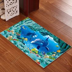 3d Bath Mat Shower Spa Bathroom Rubber Carpet Water Absorption Rug Pad Kitchen Door Floor Das Badezimmer Anti Slip Xmas 40*60cm Suitable For Men Women And Children