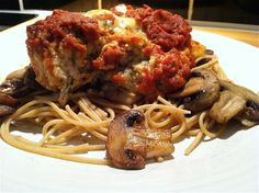 chicken parmesan recipe... made in the crockpot!