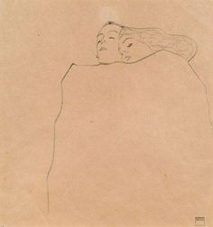 I have pretended to go mad in order to tell you the things I need to. I call it art. Because art is the word we give to our feelings made public. And art doesn't worry anyone. —Iain Thomas drawing by Egon Schiele ‪#‎HowArtYouToday‬