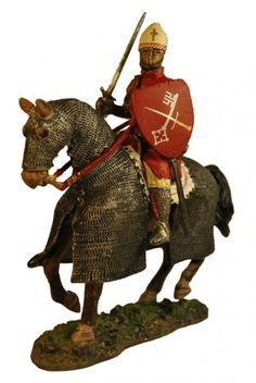 Епископ Герман Дерпт, битва при Тарту. Bishop Hermann of Tartu Del Prado Средневековье №38