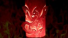 + Baixe o PDF da luminária de dragão +Baixe o PDF da luminária de borboleta + Vela que chora colorido + Admirável