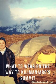 What to wear to climb Mt. Kilimanjaro. Many decisions to make to ensure you are prepared for this amazing experience!