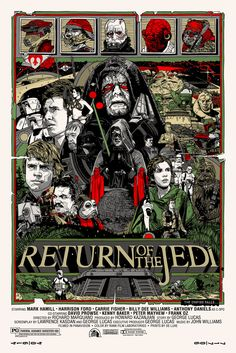 Star Wars: Return of the Jedi by Tyler Stout