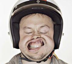 """Fotografias engraçadas tiradas em um túnel de vento """"Funny photos taken in a wind tunnel"""""""