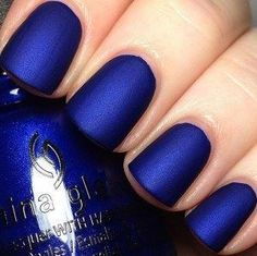 30 Gorgeous Fall Nail Colors You Should Definitely Try : China Glaze, Combat Blue-ts Trendy Nails, Cute Nails, My Nails, Fall Nail Art, Fall Nail Colors, Nail Polish Sets, Nail Polish Colors, Polish Nails, Color Nails