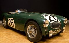 The ex-works Austin-Healey test car that raced at Le Mans in 1953 and was involved in the disastrous 1955 crash has been restored to its former glory.