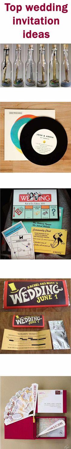 Unusual wedding invitation ideas | Wedding Photographers Glasgow