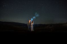 Fall wedding at Devil's Thumb Ranch