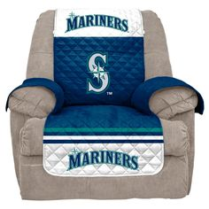 MLB Seattle Mariners Recliner Slipcover, Durable