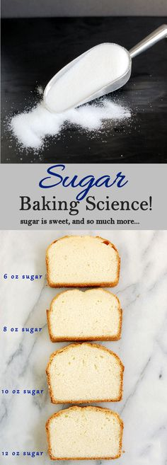 Sugar is sweet but it's also a great cake tenderizer. Learn how to get the perfect texture for your cakes.